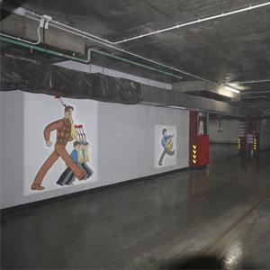 Паркинг в ЖК «Маяковский» украсят плакаты в стиле Окон РОСТА
