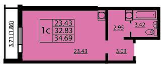 Планировки 2 очередь - корпус 4-8