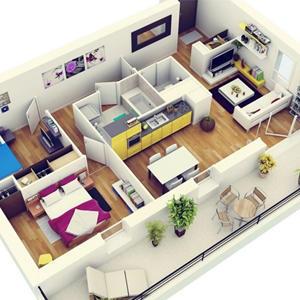 Спрос на трехкомнатные квартиры в новостройках вырос за год на треть, а средний чек покупки такого жилья – на 18%