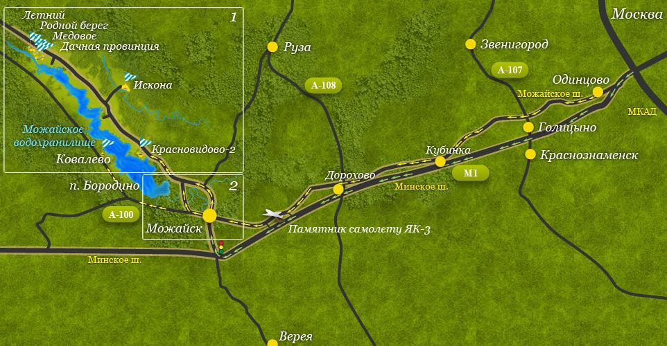 Коттеджный посёлок  «Искона (Можайское)» по адресу Московская обл, Можайский р-н, Авдотьино д в 96.5км от МКАД предложения по цене от 200 000 руб.
