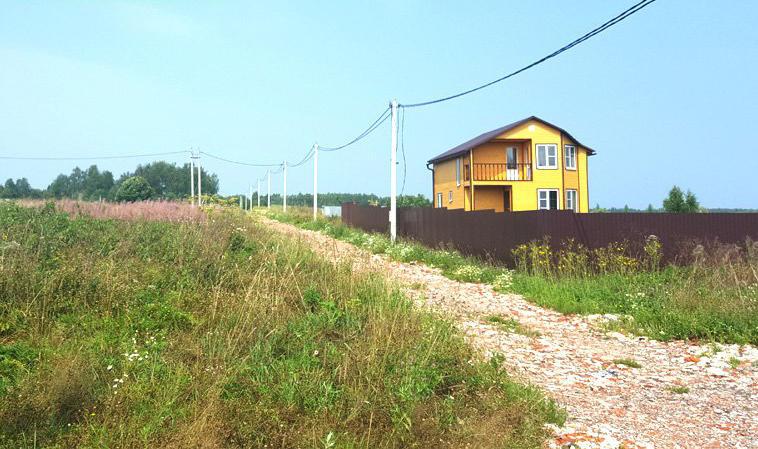 Коттеджный посёлок  «Гранд Руза Парк» по адресу Московская обл, Волоколамский р-н, Таршино д в 98.9км от МКАД